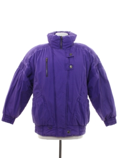 1980's Womens Totally 80s Style Ski Jacket