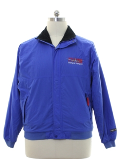 1990's Mens Boeing 777 Windbreaker Jacket