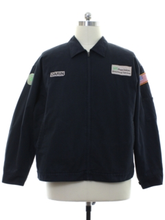1990's Mens Work Zip Jacket