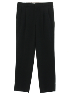 1980's Mens Totally 80s Pleated Slacks Pants