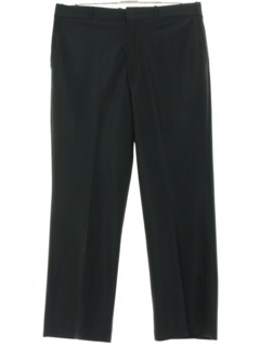1960's Mens Flat Front Pinstriped Slacks Pants