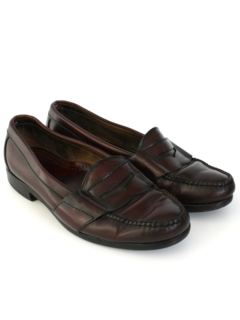 1980's Mens Accessories - Penny Loafers Shoes