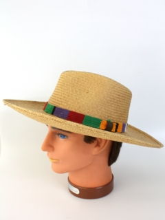 1980's Mens Accessories - Panama Straw Hat