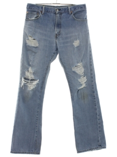1990's Mens Levis 517s Grunge Flared Jeans Pants