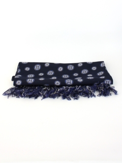 1940's Mens Accessories - Print Neck Scarf Muffler