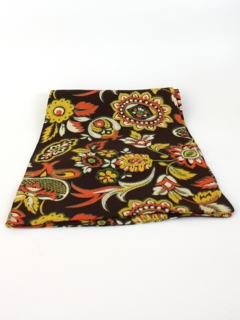 1940's Mens Accessories - Print Ascot Neck Scarf