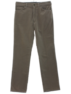 1970's Mens Lee Corduroy Pants
