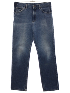 1980's Mens Lee Grunge Denim Jeans Pants