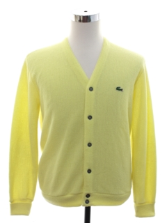 1970's Mens Izod Golf Sweater