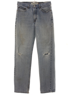 1990's Mens Levis 550s Grunge Denim Jeans Pants