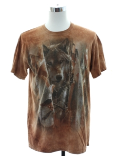 1990's Mens Mountain Brand Animal T-shirt