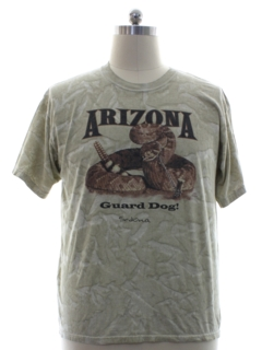 1990's Mens Animal Arizona Travel T-shirt