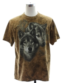1990's Mens Animal T-shirt