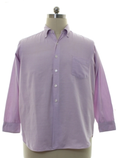1960's Mens Preppy Shirt
