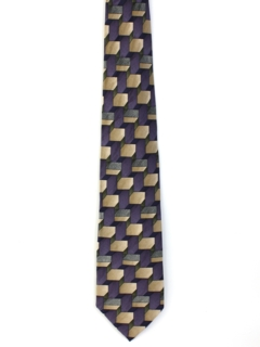 1990's Mens Wide Silk Neck tie