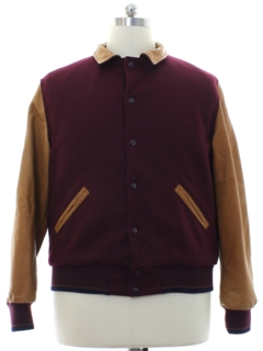 1990's Mens Varsity Style Bar Jacket