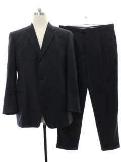1980's Mens Pinstriped Suit
