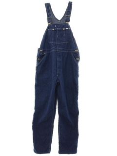 1970's Mens Lee Denim Overalls