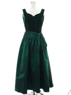 1990's Womens Designer Alfred Angelo Prom Or Cocktail Dress