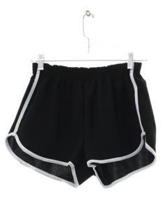 1980's Mens Totally 80s Running Shorts