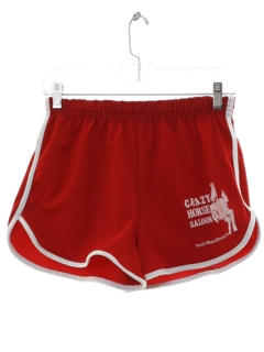 1980's Mens Crazy Horse Saloon Athletic Shorts