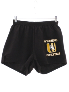 1980's Mens Wyoming Athletic Shorts