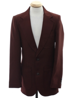 1970's Mens/Boys Disco Blazer Sport Coat Jacket