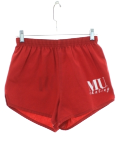 1980's Mens Miami University Skating Athletic Shorts