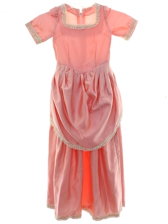 1970's Womens/Girls Prom Or Cocktail Dress