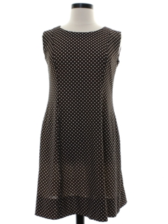 1970's Womens Polka Dot Dress