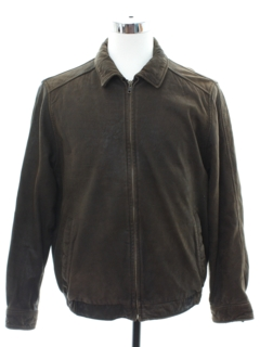 1990's Mens Grunge Leather Jacket