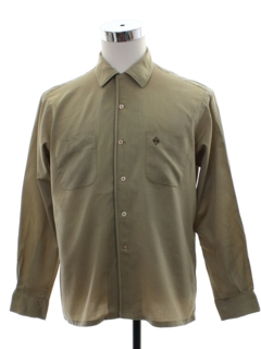 1960's Mens Duke of Hollywood Mod Sport Shirt