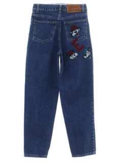 1990's Womens or Girls Denim Jeans Pants