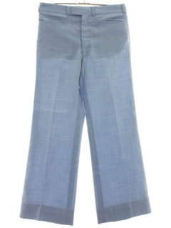 1970's Mens Wide Leg Flared Leisure Pants