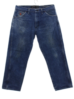 1990's Mens Wrangler Grunge Denim Jeans Work Pants