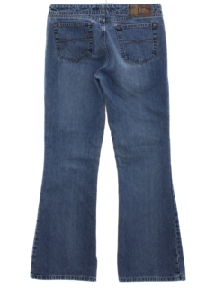 1920's Womens LEI Flared Denim Jeans Pants