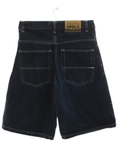 1990's Mens Denim Jorts Shorts