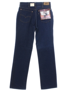 1980's Womens Levis 557s Totally 80s Denim Jeans Pants