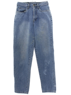 1990's Womens Denim Grunge Jeans Pants