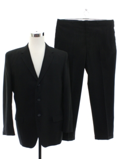 1960's Mens Mod Blended Wool Suit