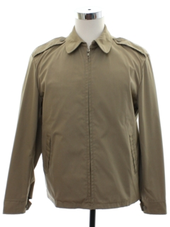 1980's Mens Military Issue Zip Jacket