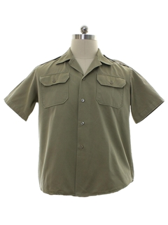 1950's Mens Uniform Work Shirt