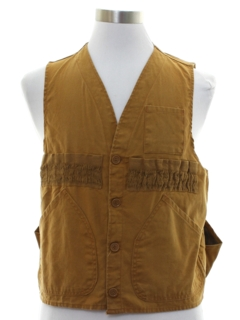 1960's Mens Bird Hunting Vest