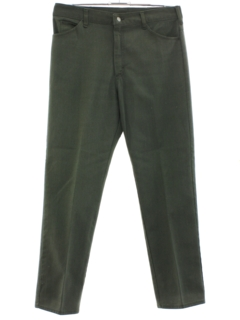 1960's Mens Mod Jeans-Cut Pants
