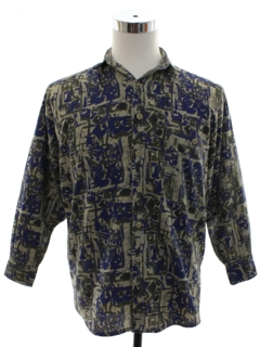1980's Unisex Ladies or Boys Totally 80s Graphic Print Shirt