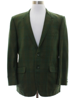 1960's Mens Mod Blazer Sport Coat Jacket