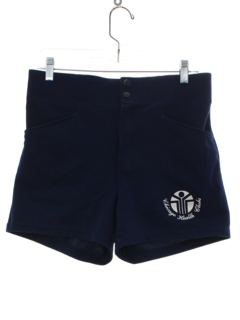 1980's Mens Athletic Bike Shorts