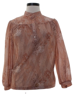 1970's Womens Prairie Shirt