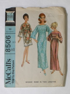 1960's Womens Sewing Pattern