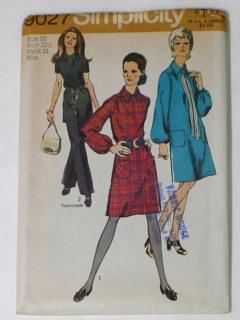 Vintage dress Size M. Patterns sewing womens Publisher for women Berlin Neue modelle 1970 Leipzig